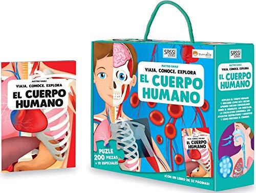 El cuerpo humano. Viaja, conoce, explora. Con puzzle. Edic. ilustrado (Español) (Viaja, conoce, explora Cuadrado)