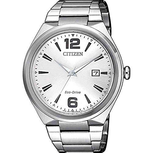 Relógio Citizen Masculino Ref: Tz20895q Eco-Drive Solar Prateado