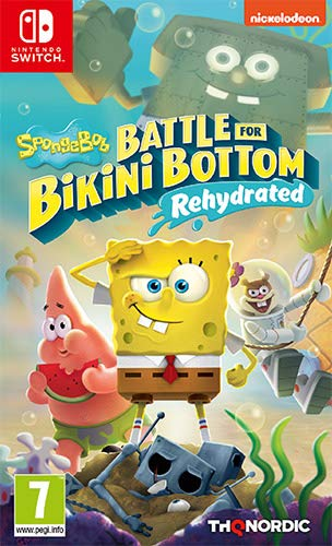 SpongeBob Battle for Bikini Bottom - Rehydrated [Importación italiana]