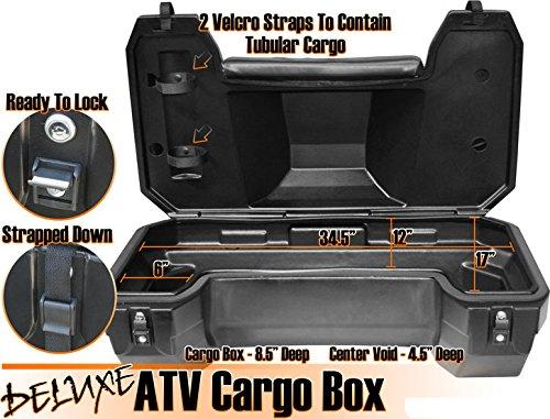 Koffer Cargo Box Topcase Ersatzteil für/kompatibel mit TGB Blade 325 425 500 550 600 1000 ATV Quad