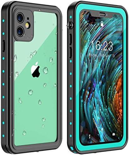 Huakay iPhone 11 Waterproof Case Full Body 360 Protective Shockproof Dirtproof Sandproof IP68 product image