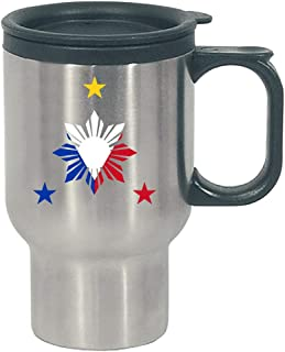 Philippines - Country Pride Republic Asian Island - Independence - Stainless Steel Travel Mug
