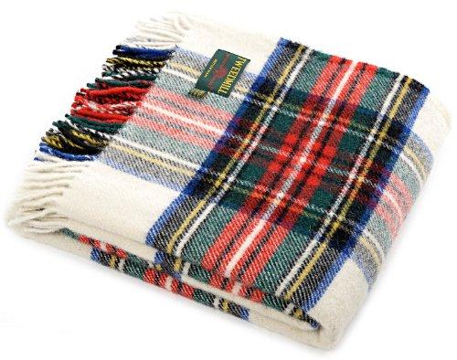 Dress Stewart tartan Schurwolle Größe Tweedmill Picknick-Decke, Schurwolle,