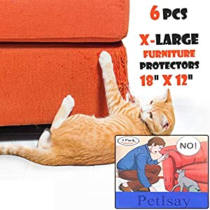 Foonee Cinta disuasoria antiarañazos para Gatos, Cintas de protección contra arañazos para Mascotas, 2.5 Pulgadas x 11 Yardas, película Protectora Transparente para Puerta, Ventana, Muebles, sofá: Amazon.es: Productos para mascotas