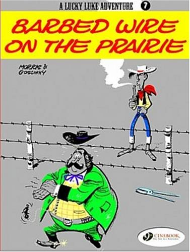 Lucky Luke - tome 7 Barbed wire on the prairie (07)