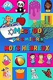 Mes 100 premiers mots Hébreux: Apprendre l'Hébreu enfants 2 à 6 ans, bébé et maternelle   Imagier : 100 belles images couleur avec mots en Hébreu et Français