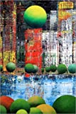 Posterlounge Cuadro de metacrilato 20 x 30 cm: New York Central Park, Abstract de Gerhard Kraus