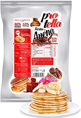 Harina de avena Protella 1kg - Para Recetas Saludables - Sin Azúcar
