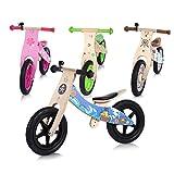 Baby Vivo Bicicleta de Equilibrio Bicicleta sin Pedales Niños 12' Sillín Bici regulable Correpasillos Balance Impulsor a partir de 2 Años - Classic en Verde