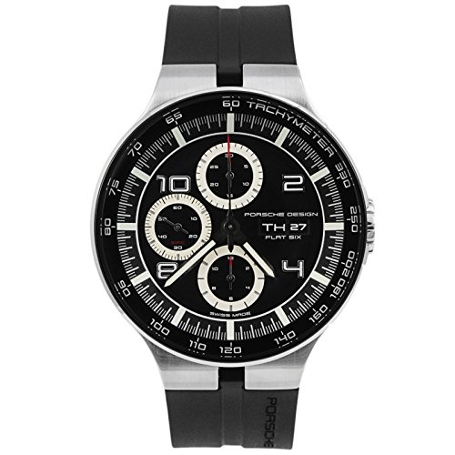 Porsche Design Flat Six Automatic Chronograph Steel & PVD Mens Watch...