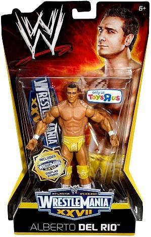 Mattel WWE Wrestling Exclusive Wrestle Mania XXVII Action Figure Alberto Del Rio