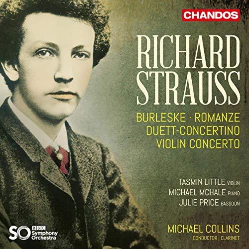 Strauss: Orchesterwerke-Burleske in d-Moll / Romanze in Es / Violinkonzert in d-Moll