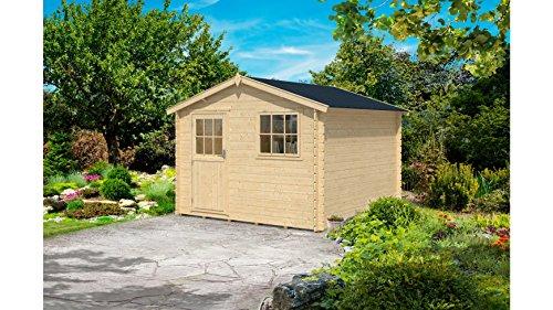 baumarkt direkt Gartenhaus Mosel 3, BxT: 300x300 cm natur