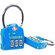 Tarriss TSA Luggage Lock with SearchAlert (2 Pack)