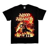 Amon Amarth surtur Rising Death Metal Band Men's Balck t Shirt Size s to 2XL