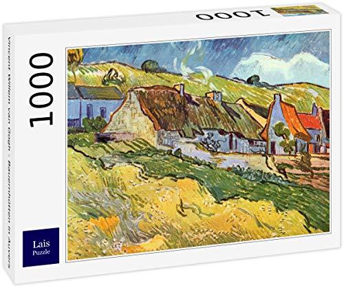 Lais Puzzle Vincent Willem Van Gogh - Case coloniche a Auvers 1000 Pezzi