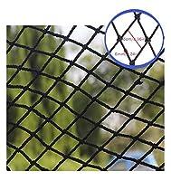 JPL セーフティネット、黒人安全ネット、キッズ保護ネッティングクライミング織ロープトラック貨物トレーラーのインテリア装飾メッシュ、子供のおもちゃペット屋内手すり階段屋外パティオバルコニーPlaygroun,3x2m