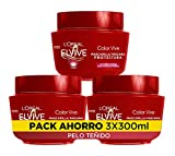 L'Oreal Paris Elvive Color Vive Mascarilla Protectora - pack de 3 unidades x 300 ml - total: 900 ml