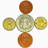 Set de 3 Monedas de Chile. 1, 5, 10 Pesos. 1954-1959
