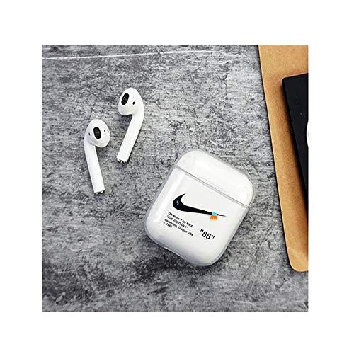 8HAOWENJU Geeignet für airpods1 / 2 schutzhülle transparent Softshell drahtlose Bluetooth Headset Box Shell Fashion Design (Style : Style 2)