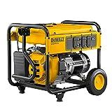DEWALT DXGNR5700 5700 Watt Gasoline Powered Recoil Start Portable Generator