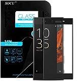 SOCU Protection écran Sony Xperia XZ, Film de protection d'écran en Verre Trempé...