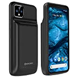 NEWDERY Battery Case for Google Pixel 4 XL, 10000 mAh Portable Protective Charging Case, Rechargeable Extended Battery Case, Backup Charger Case Compatible with Google Pixel 4XL(6.3 inch)