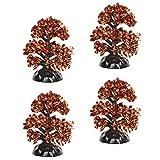 Department 56 Village Cross Product Accessories Halloween Sparkle Shrubs Tree Figurine Set, 2.5 Inch, Multicolor