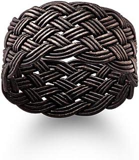 خاتم من الفضة للرجال من عتيق، Ring003-12 - مقاس 12