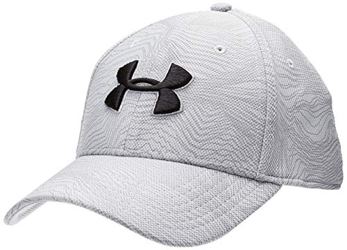 Under Armour Herren Kappe Men's Printed Blitzing 3.0, Grau, S/M, 1305038-012