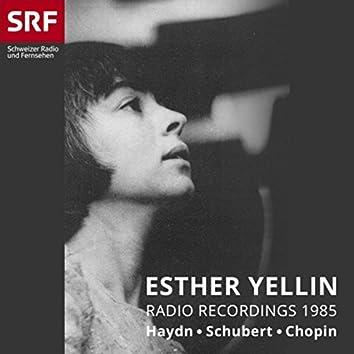 Esther Yellin: Radio Recordings 1985