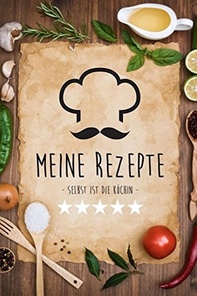 お風呂見落とすフレキシブルMeine Rezepte: Rezeptbuch zum Selberschreiben mit Register fuer ueber 60 eigene Rezepte