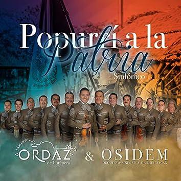 Popurrí a la patria (feat. Orquesta sinfónica del estado de Michoacán)