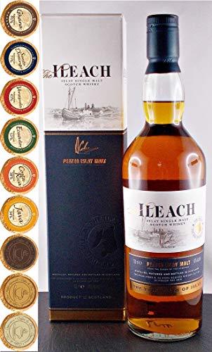The Ileach Islay Single Malt Whisky + 9 Edel Schokoladen in 9 Sorten