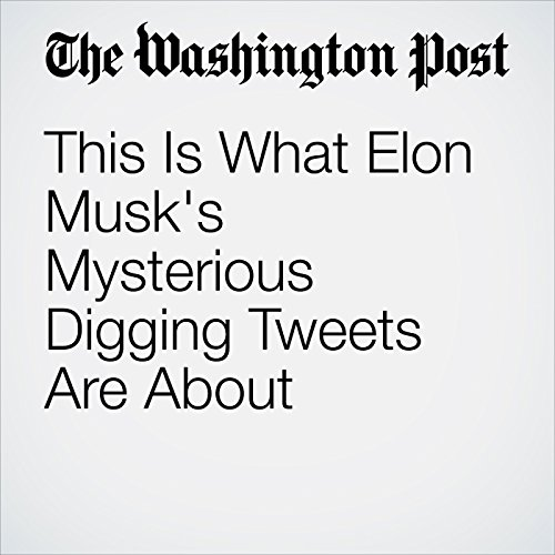 This Is What Elon Musk's Mysterious Digging Tweets Are About copertina