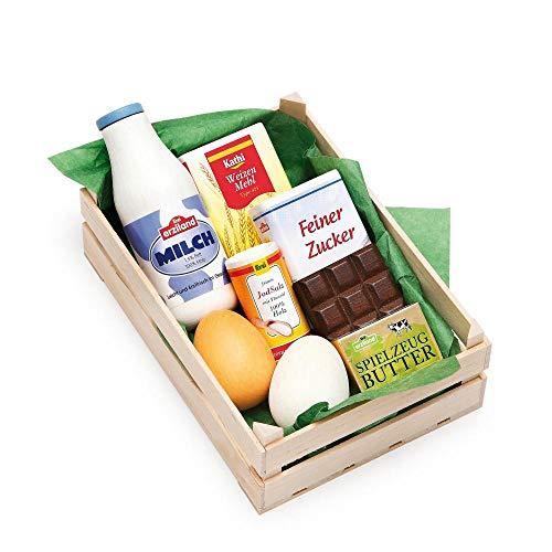 Erzi assortiment bakingrediënten, speelgoed-levensmiddelen, winkel-accessoires