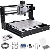 Upgrade Version CNC 3018 Pro GRBL Control DIY Mini CNC Machine, Wood Router Engraver with Offline Controller + 5mm ER11...