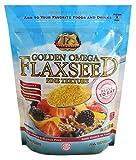Premium Gold Ground Flax Seed | High Fiber Food | Omega 3 | 24oz 12pk