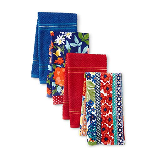 The Pioneer Woman Fiona Floral Kitchen Towels, Set of 4