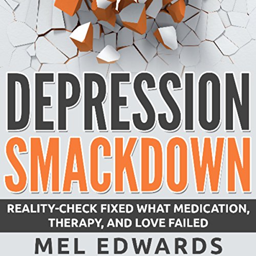 Depression Smackdown audiobook cover art
