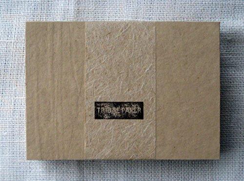 paperfreak: HanfKARTON A6 Hanfpappe Hanf-Postkartenkarton Hanfpapier handgeschöpft A6 60er Bund - auch für Label/Etiketten - hemp paper cardboard