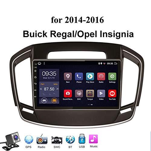 9 Pulgadas Android 8.1 Octa Core Coche Multimedia Player para Opel Insignia/Buick Regal 2014-2016, Soporte GPS Navegador/RDS Radio De Coche/Bluetooth Mandos de Volante