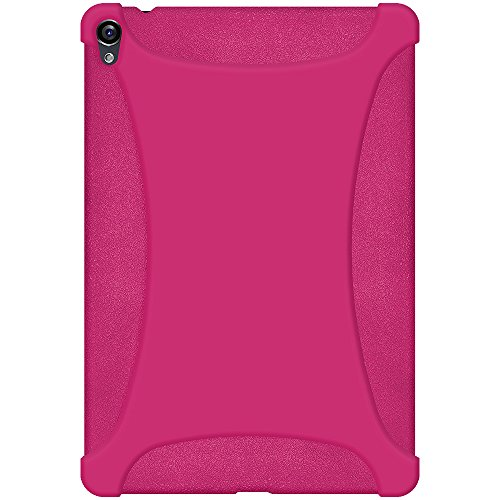 Amzer Exclusive - Funda tipo libro para Google Nexus 9, color magenta