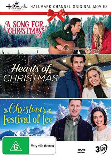 Hallmark Christmas 3 Film Collection (A Song For Christmas/Hearts of Christmas/Christmas Festival of Ice)