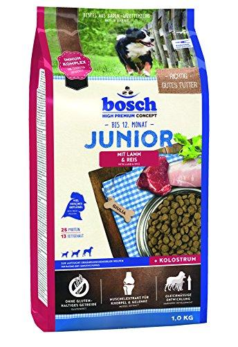 Bosch Hondenvoer, Junior Lamm en rijst, pak van 5 (5 x 1 kg)