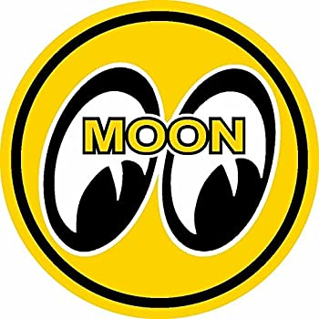 ION Graphics Moon Equipped Rat Fink Rat Rod Old School Hot Rod Muscle Car Performance Sticker