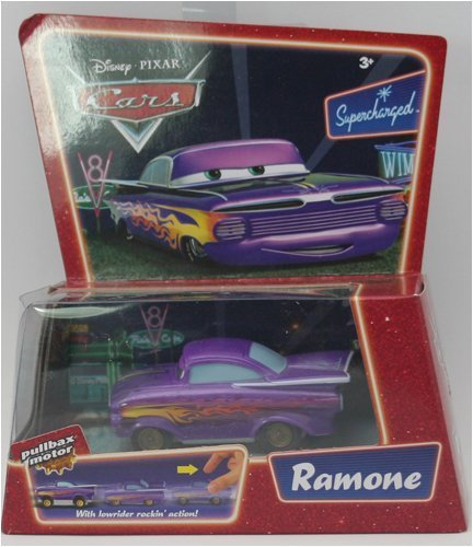 Disney Pixar CARS Pullbax Motor With Speed and Spin Action - Ramone