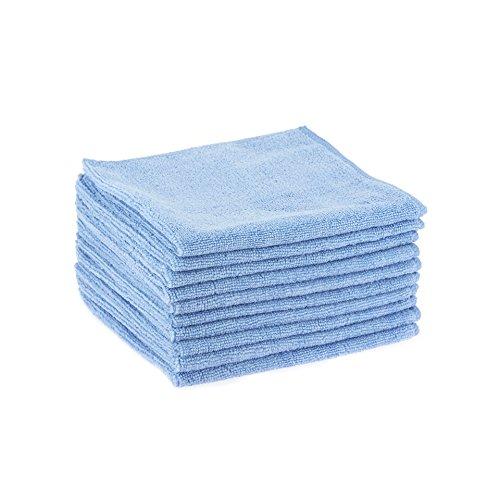 Delaisy Kargo 123129BU Chiffon lavette microfibre, 80% Polyester/20% Polyamide, Bleu (Pack de 10)
