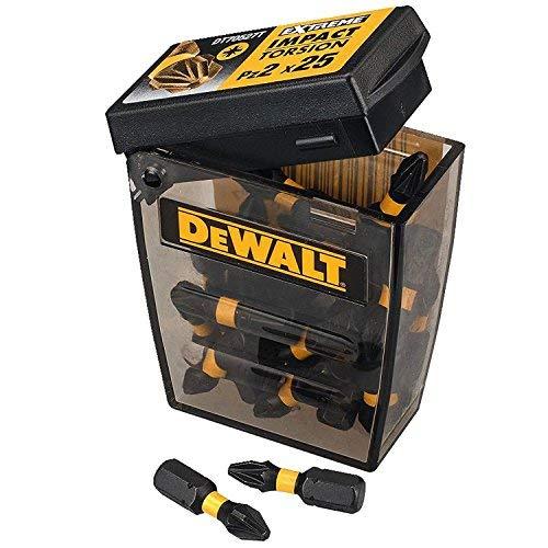 DeWalt Dewalt dt70527t PZ2cacciavite impatto torsione 25mm (25pezzi Tic Tac Dispenser)