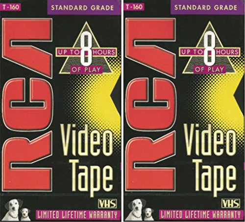 Find Discount RCA T-160 Standard Grade Video Tape TWO PACK
